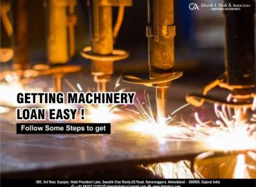 Machinery loan fund service in ahmedabad